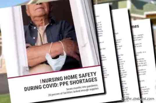Texas Nursing Homes Still Don't Have Enough PPE To Keep Residents Safe From Coronavirus