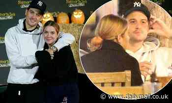 Ashley Benson and G-Eazy ring in an early Halloween at Nights of the Jack before grabbing dinner