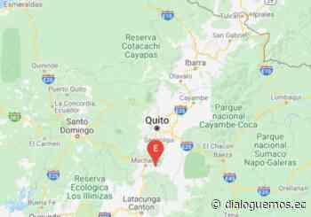 Un temblor de 4,9 de magnitud ocurrido en Machachi despertó a Quito - Dialoguemos