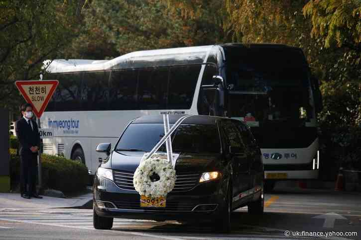 Funeral send-off held for late Samsung chairman Lee Kun-hee
