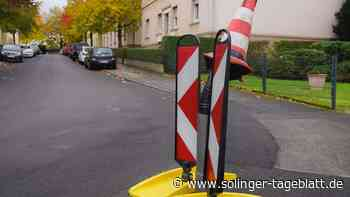 Solingen: Laterne wird oft umgefahren - solinger-tageblatt.de