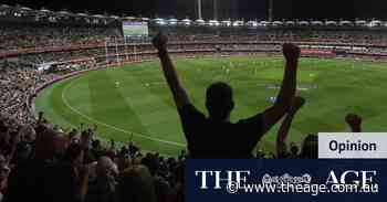 It might rate better but night grand final is not what footy's about