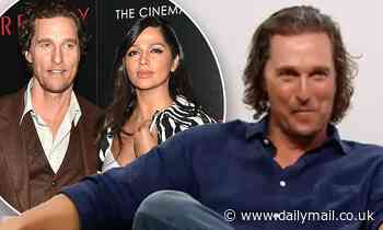 Matthew McConaughey recalls the moment he met his now-wife Camila Alves 14 years ago