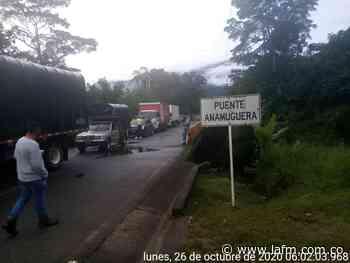 Cierre en vía entre Risaralda y Chocó, por protestas - La FM