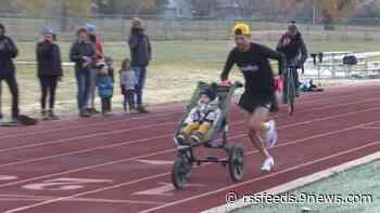 Denver runner sets unique stroller world record