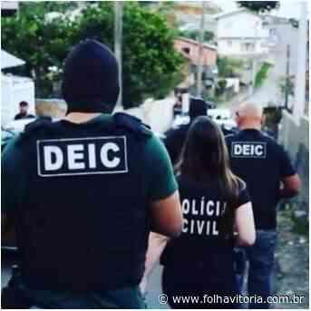 Polícia Civil prende suspeito de roubo em Cachoeiro de Itapemirim - Folha Vitória