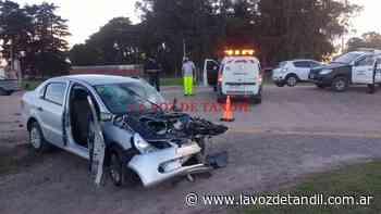 Dos heridos en choque de Ruta 226 y Buenos Aires - La Voz de Tandil