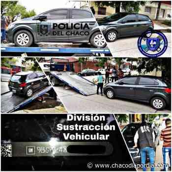 Recuperan en Chaco un auto que fue robado en Buenos Aires - Chaco Dia Por Dia