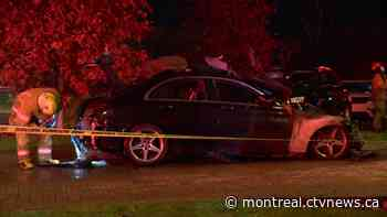 Mercedes set on fire overnight in Dollard-des-Ormeaux - CTV News Montreal
