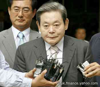 Late Samsung chief laid to rest