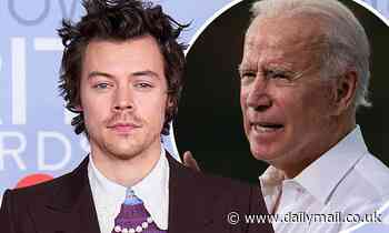 Harry Styles endorses Joe Biden in presidential election 'if I could vote in America'