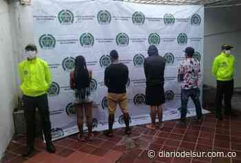 Neutralizaron banda de microtráfico que delinquía en cuatro barrios de Puerto Boyacá - Diario del Sur