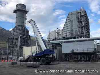 Maxim Power switches from coal to natural gas near Grande Cache - CanadianManufacturing.com
