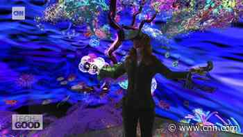 Can art help save marine life? Socio-ecological artist designs new coral reefs using virtual reality