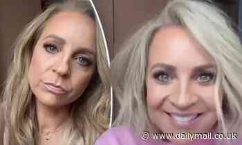Carrie Bickmore shows off her dramatic post lockdown haircut