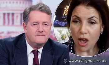 Piers Morgan says Kirstie Allsopp tried to get ITV executives make him APOLOGISE after Twitter spat
