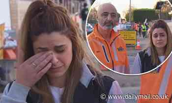 The Block's Tash Pavlou breaks down in tears after admitting 'our budget is just destroyed'