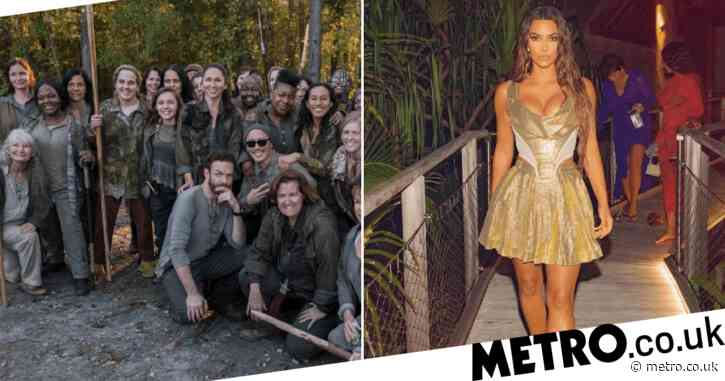 The Walking Dead shades Kim Kardashian over private island post