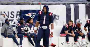 NFL: Cam Newton und die New England Patriots stecken in der Krise - SPORT1