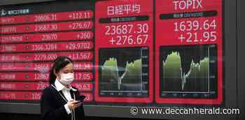 Tokyo shares fall on coronavirus worries - Deccan Herald