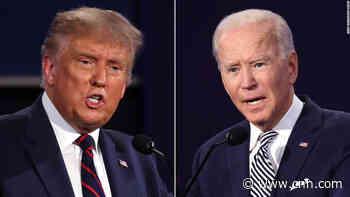 Trump touts 'America First' but Biden wary of 'America alone'