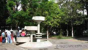 Labores de recuperación y mantenimiento al parque principal de Baraya - Noticias