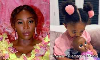 Serena Williams' video of daughter Olympia singing melts fans hearts