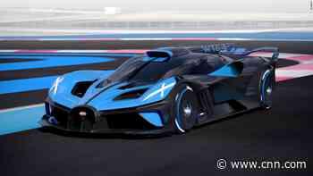 Bugatti unveils a super light hypercar that can top 300 miles an hour