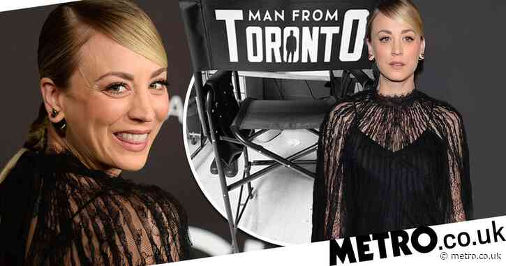 The Big Bang Theory's Kaley Cuoco is unstoppable as she starts work on new action comedy