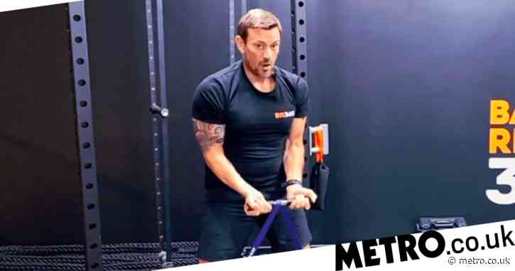 Ollie Ollerton tutorials squat workout SAS: Who Dares Wins-style