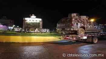 Sicarios antagónicos se dan un topón en Tepalcatepec - CB Televisión