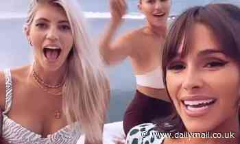 Olivia Culpo and Devon Windsor party in their bikinis for sizzling Instagram videos in Cabo