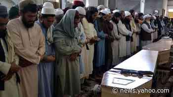Pakistan attack: Peshawar religious school holds prayers hours after blast