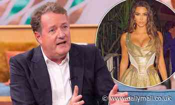 Piers Morgan brands Kim Kardashian a 'tone-deaf imbecile' after 40th birthday vacation