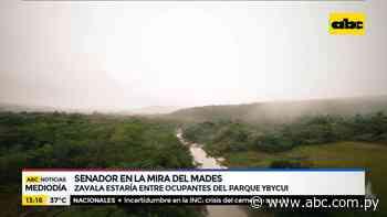 Fidel Zavala estaría entre los ocupantes del Parque Ybycuí - ABC Noticias - ABC Color