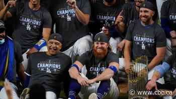 Dodgers' long-awaited World Series title marred by Turner's positive COVID-19 test