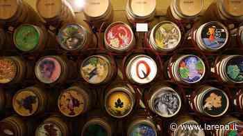 Le botti artistiche alla cantina Cesari di Cavaion veronese | L'Arena - L'Arena