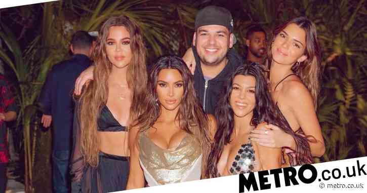Rob Kardashian looks happy and healthy in rare outing at Kim's controversial birthday