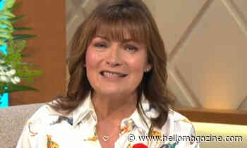 Lorraine Kelly's shirt features the most unusual print