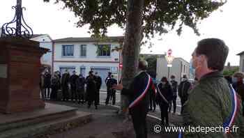 Saint-Jory : hommage à Samuel Paty - ladepeche.fr