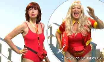 Loose Women pays tribute to guest Pamela Anderson by opening show with Baywatch parody