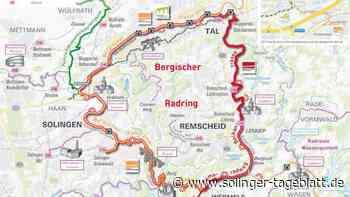 70 Kilometer durchs Bergische radeln