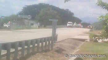 Explota pipa con asfalto en vía Arriaga-Mapastepec - Diario de Chiapas