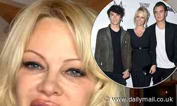Pamela Anderson admits she's 'feeling puffy' after gaining weight in lockdown