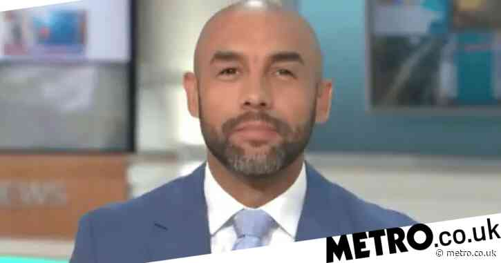 Good Morning Britain's Alex Beresford forced to pull out of hosting show after becoming 'unwell' amid Covid-19 fears