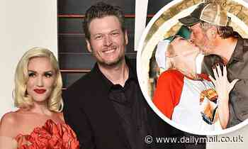 Blake Shelton, 44, says he is 'extremely excited' to be engaged to Gwen Stefani, 51