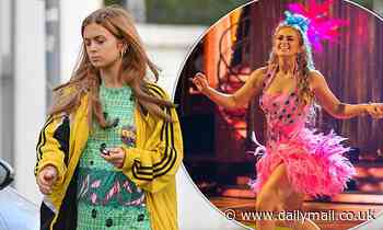 Strictly's Maisie Smith is words away from her sequins and feather