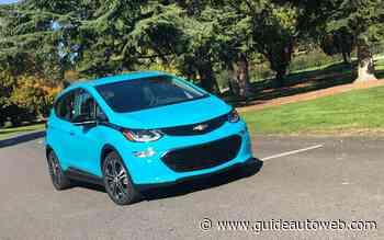 Bolt EV 2021: rouler électrique sans compromis