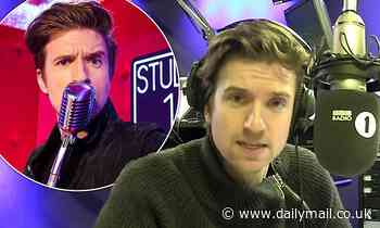 Greg James reveals he often relies on his iPhone 5s to conduct interviews live on air