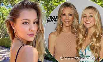 Heather Locklear's daughter Ava Sambora sings praises of her mom for helping her cope with anxiety